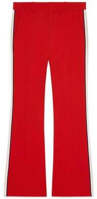 Gucci Viscose bootcut trousers