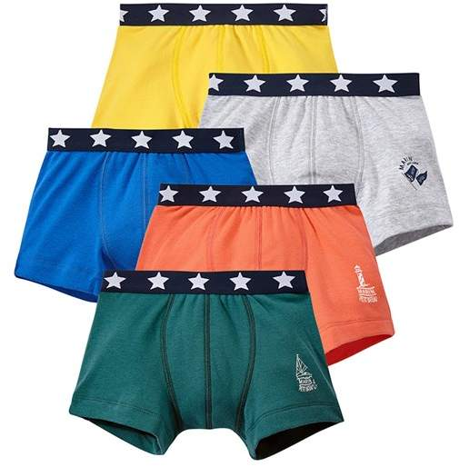 Set Of 5 Boys Boxers