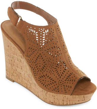 51f000a9bf4 A.N.A Womens Moe Wedge Sandals