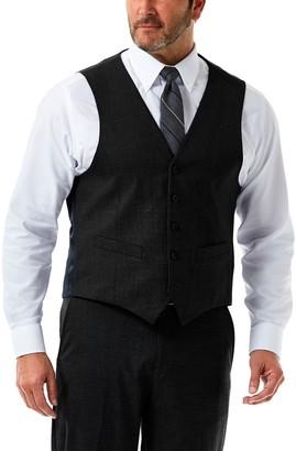 Haggar Men's J.M. Tailored-Fit Stretch Suit Vest