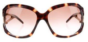 Jimmy ChooJimmy Choo Oversize Resin Sunglasses