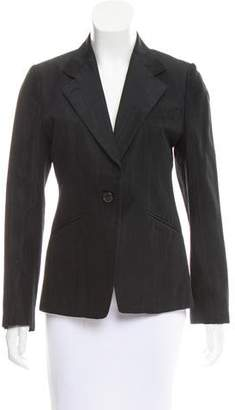 Dries Van Noten Jacquard Notched-Lapel Blazer