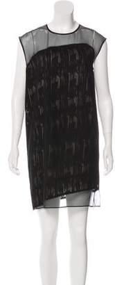 Helmut Lang Silk Shift Dress
