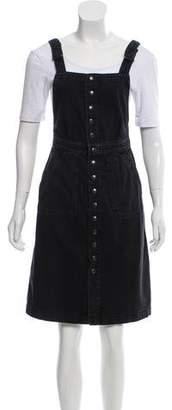 MiH Jeans Denim Knee-Length Dress