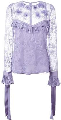 Elie Saab lace blouse