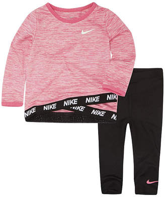 Nike Toddler Girl 2-pc Legging Set-Toddler Girls