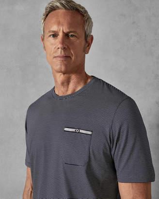 Ted Baker PIKMITT Striped cotton T-shirt