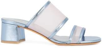 Maryam Nassir Zadeh sheer mesh panel sandals