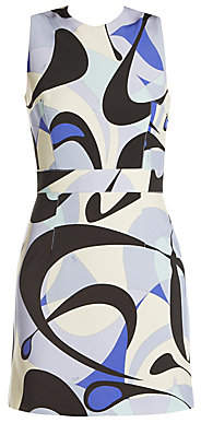 Emilio Pucci Women's Punto Milano Printed Mini Dress