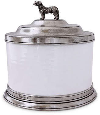 Match Convivio Cookie Jar with Dog Finial