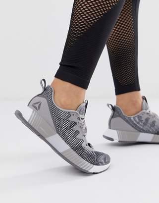 Reebok Fusion Flexweave sneakers in grey