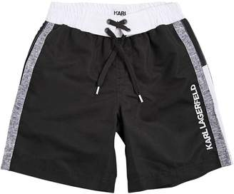 Karl Lagerfeld Nylon Swim Shorts