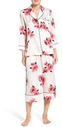 Women's Kate Spade New York Crop Pajamas $128 thestylecure.com