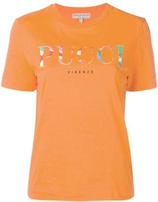 Emilio Pucci logo T-shirt