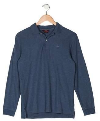 Brooks Brothers Boys' Long Sleeve Polo Shirt