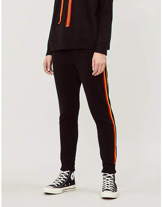 42301b4f Chinti and Parker Ringmaster cashmere and wool-blend jogging bottoms