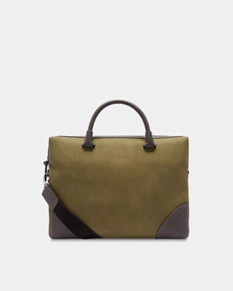 Ted Baker DAYOF Contrast corner document bag