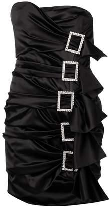 Alexandre Vauthier side buckles dress