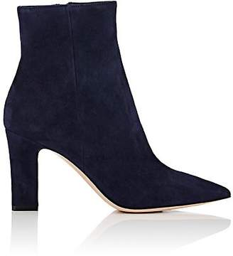 Gianvito Rossi Women's Suede Ankle Boots - Denim