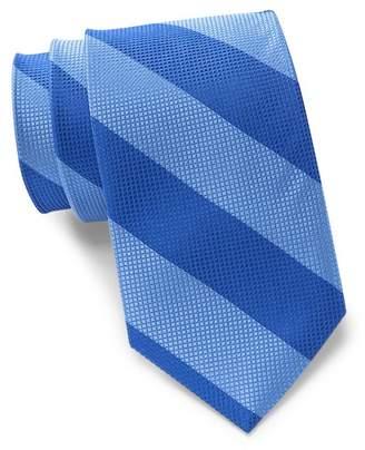 Tommy Hilfiger Bold Texture Stripe Silk Tie