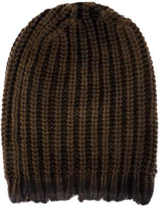 Avant Toi cable-knit beanie hat