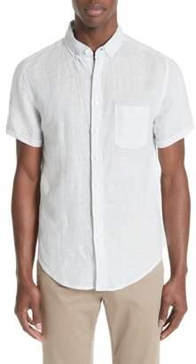 Onia Classic Stripe Linen Shirt
