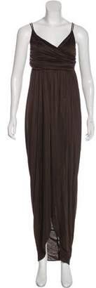 Alexander McQueen Sleeveless Maxi Dress
