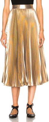 Frankie Pleated Skirt $580 thestylecure.com