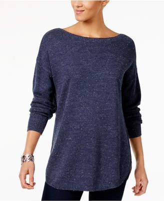 Maison Jules Cotton Boat-Neck Sweater