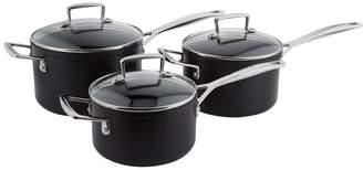 Le Creuset Non-Stick Saucepans (Set of 3)