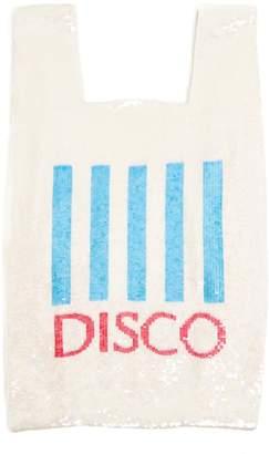 Ashish Disco sequin-embellished cotton bag