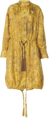 Oscar de la Renta Saffron Trench Coat