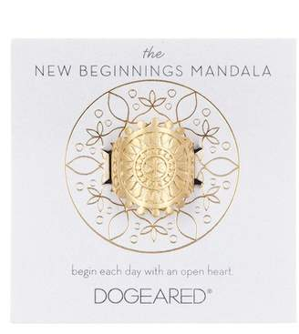 Dogeared The New Beginnings Mandala Ring - Size 5