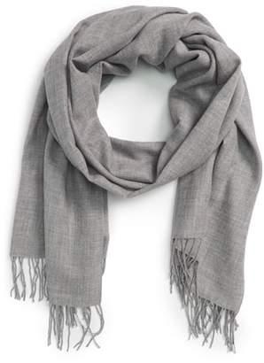Nordstrom Tissue Weight Wool & Cashmere Scarf