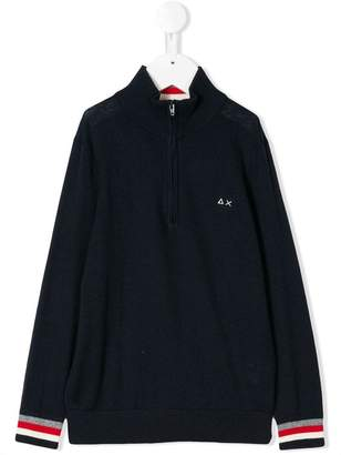 Sun 68 zipped jumper