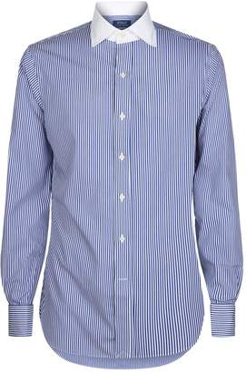 Polo Ralph Lauren Contrast Collar Striped Shirt