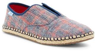Toms Woven Plaid Palmera Slip-On Sneaker