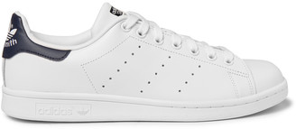 Stan Smith Leather Sneakers $75 thestylecure.com
