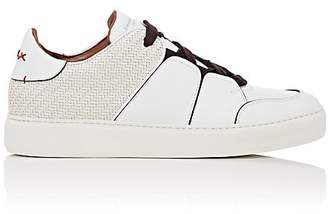 Ermenegildo Zegna Men's Tiziano Leather Sneakers