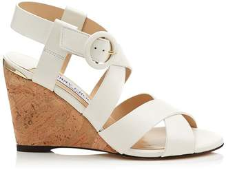 Jimmy Choo Domenique 85 Wedge Sandals