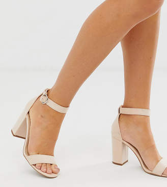 Pimkie heeled sandals in nude