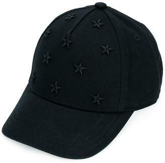 Diesel star embroidered baseball cap