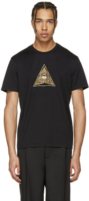 Givenchy Black Pyramid Eye T-Shirt $440 thestylecure.com