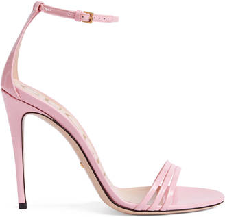 Patent leather sandal $695 thestylecure.com