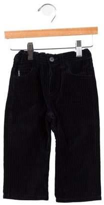 Armani Junior Boys' Velvet Pinstripe Pants