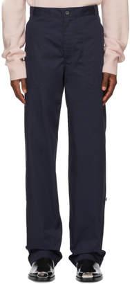 Calvin Klein Navy Workwear Trousers