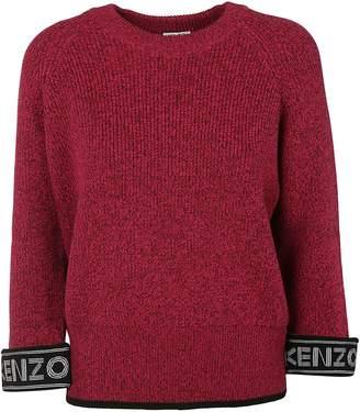 Kenzo Logo Cuff Sweater