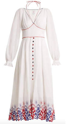 Gül Hürgel Embroidered Linen Dress