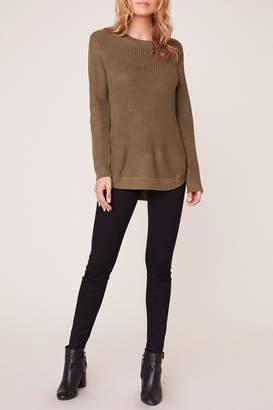Apricot Lane Scoop Back Sweater