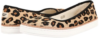 UGG Kammi Calf Hair Leopard $120 thestylecure.com